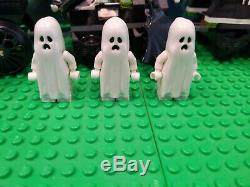 Fighters Monster Lego Le Ghost Train 9467 Modifié Pour Fonctionner Sur Les Pistes Lego
