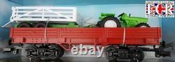 G Échelle 45mm 132 Gauge Newray XL Track Train Set B/o Loco Trucks De Tracteurs