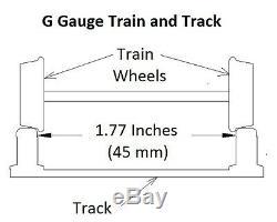 G-gauge Double Cross Deluxe Mise En Page Pack-new Bright Bachmann Lionel Train Lot