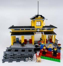 Gare De Lego City 7997 100% Complète Avec Voies, Minifigs Et Manuel