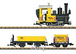 Gauge G Numéro D'article 72503 Ensemble De Démarrage De Train Sur Chantier De Construction. 120 Volts