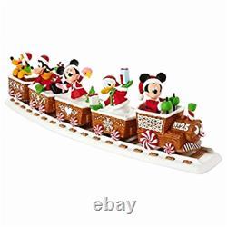 Hallmark 2016 Disney Christmas Express Train Ensemble Musical De 6 Pistes Incluant