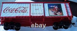 Hawthorne Village, Bachmann, Coca Cola, Santa Claus Model Train/e-z Track Set