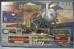 Ho Bachmann Chattanooga Nc Et Stl La Ligne Dixie Train Set Vapeur Moteur 00626 Nouveau