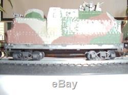 Ho Ensemble Collection Blindé Militaire Train, Locomotive À Vapeur, Tendre, Et 2 Voitures