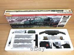 Hornby R1039 Flying Scotsman Train Inc Loco, Entraîneurs, Piste, Tapis, Etc Psu 00