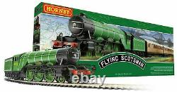 Hornby R1255m Flying Scotsman Train Set Oo Gauge Scale (ho Track Compatible) 00