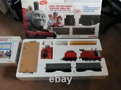 James The Red Engine Lionel Electric Train Set With2 Troublesome Trucks&track Kit