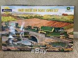 John Deere Ho Train Avec E-z Track System Athearn 7 Series 2003 Nouveau