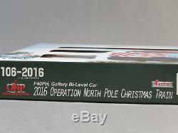 Kato N Scale 2016 Fonctionnement Du Nord Pole Starter Set Train Ovale Suivre 106-0036 Nouveau