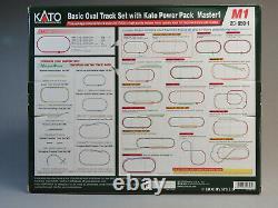 Kato N Scale M1 Basic Oval Track Set Withpower Pack Train Transformateur 20-850-1 Nouveau