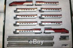 Kato N Scale Thalys 10 Car Train Set Display Avec La Piste (k10910)