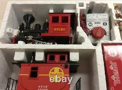 L. G. B. 92430 Ensemble De Trains -tracks Loco Cars Pour La Mise En Place Du Train À L'échelle G