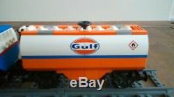 Lego 10133 Bnsf + 6 + 8 Camions-citernes Sur Mesure Rails Droits + 4 Sacs De Flexi Piste