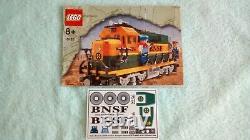 Lego 10133 Bnsf, 6 Tankers, 8 Pistes, 4 Sacs De Flexi Track, Bi, Feuille D'autocollant