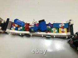 Lego 10173 Train De Noël Des Fêtes Avec Pistes 100% Complet Avec Boîte Et Instr