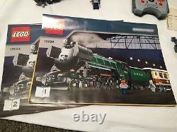 Lego 10194 Emerald Night Train + + Alimentation Fonctions Boîte Xtras Stickers Piste Demandez