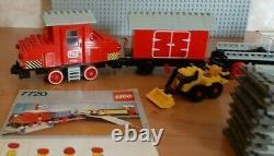Lego 4.5v 7720 Diesel Train De Marchandises 4.5 Volt Voie Ferrée Eisenbahn