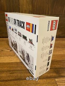 Lego 4002016 50 Ans Sur La Piste (nouveau & Sealed)