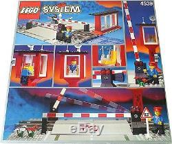 Lego 4539 Train 9 V Piste Manuel Passage À Niveau Scellé Nouveau Dans B31