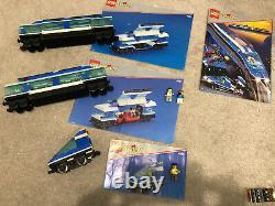 Lego 4561 4556 4548 4515 9v Express Train Set Station Xtra Boîte De Voie Instruction