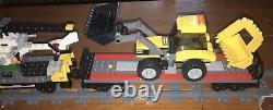 Lego 60098 City Heavy-haul Train Set Manuels Minifigures 9v Trail Works
