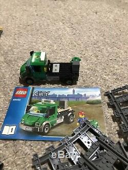Lego 6059267 Ville Trains Cargo Train 60052 Avec Extra Tracks. 99% Complet