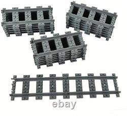 Lego 6070018 50x Train City Rc Voies Droites