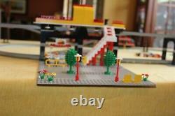 Lego 6399 Airport Shuttle Monorail Train Plus Lego Accessoire Track 6921