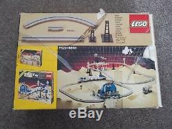 Lego 6921 Set Espace Espace Monorail Train Accessoires Piste Withinstructions Vintage