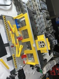 Lego 9v Train & Track Adapter Straight Curved Tracks Lot