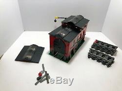 Lego Cité Du Train 9v Monde Partiel Moteur De Train Shed 10027 + Piste Supplémentaire Htf