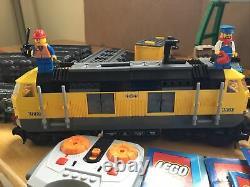 Lego City 7939 Cargo Train 100% Complet Avec Pistes Et Fonctions De Puissance No Box