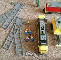 Lego City 7939 Cargo Train. + 7936 Et Piste Supplémentaire + Station