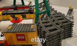 Lego City 7939 Cargo Train 9v Power Functions Withtracks All Pieces La Plupart Des Autocollants