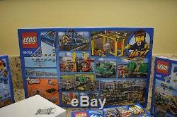 Lego City Bundle Cargo Train 60052, Camion 60020, Pelle 60075, Piste 8867,4203