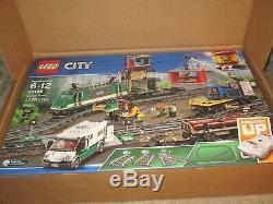 Lego City Cargo Train 60198 Remote Control Train Construire Avec Pistes