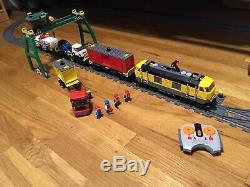 Lego City Cargo Train 7939 Avec Fonctions Power + Track Supplémentaire