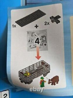 Lego City Cargo Train Pour Pièces Scellées Sacs (60052) Piste Pièces Lot