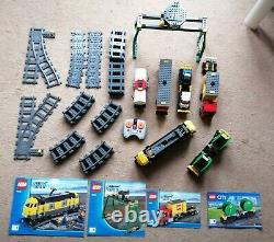 Lego City Cargo Train Set 7939 With Track Carriages & Extra Carriage From 60052 Lego City Cargo Train Set 7939 With Track Carriages & Extra Carriage From 60052 Lego City Cargo Train Set 7939 With Track Carriages & Extra Carriage From 60052 Lego City