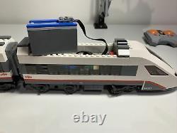 Lego City High-speed Passenger Train 60051 Working, Pistes Supplémentaires, Bon État