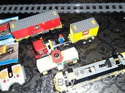 Lego City Train 3677 Moteur De Contrôle À Distance, Landaus, & Track