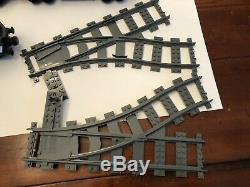 Lego City Train De Voyageurs 2010 95% Complete (7938) + 67 Pièces Piste Radiocommandé