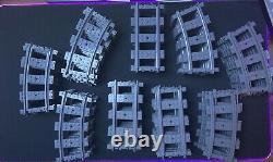 Lego City Train Suit Bulk 71 Pieces 47 Curved 24 Straight