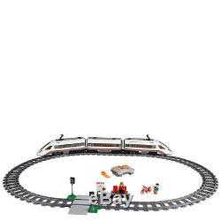 Lego City Ville 60051 Haute Vitesse À Distance Infrarouge Train De Passager Moteur Pistes Nisb