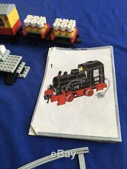 Lego Classique Vapeur Cargo Train 7722 Piste Battery Operated Lire La Description