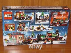 Lego Creator Expert Vacances D'hiver Ensemble De Train 10254 Wagon De Queue De Voiture Du Moteur Détecte Les Nouvelles