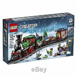 Lego Creator Expert Vacances D'hiver Train De Noël 10254 Avec Train Nouvelle Piste