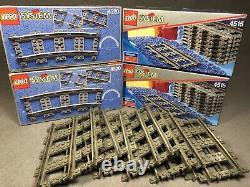 Lego Droite Courbe Train Piste 4515 4520 Certains Boîte Scellée