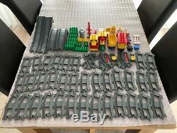 Lego Duplo Train -big Lot-41 Bits Piste De Batterie Locomotive -former Pont